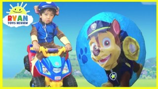 PAW PATROL GIANT SURPRISE EGGS TOYS COLLECTION Power Wheels Compilation  Videos For Kids