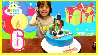 Ryans 6th Birthday Party First Cell Phone Surprise Toys Op