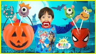 Halloween Carnival Games For Kids.Halloween Pumpkin Kids Carnival Games Bad Kids Johny Johny
