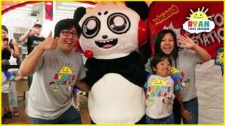 Ryans first fan meet up family fun event meet combo panda ryans first fan meet up family fun event meet combo panda in real life m4hsunfo