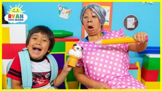 Ryan Back To School Pretend Play Toys Show And Tell Allvloggers