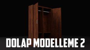 Blender – Dolap Modelleme – 2