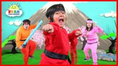 Ryan Ninja Family Kids Song (Official Video)