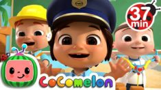 Jobs and Career Song +More Nursery Rhymes & Kids Songs – CoCoMelon