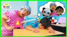 Ryan had a Bad Dream at School….