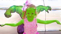 Настя и её папа – забавные истории про игрушки