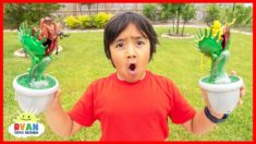 Carnivorous Plants| Educational Video for Kids with Ryan ToysReview