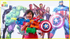 Marvel Avengers Endgame Superhero Nerf Toys Hide and Seek