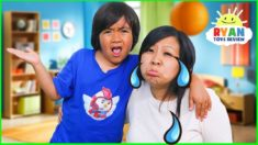 Why Do We Cry??? | Educational Video for Kids with Ryan ToysReview