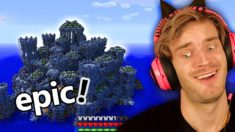 I FOUND an OCEAN TEMPLE in Minecraft! (epic)
