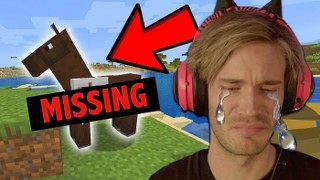 I LOST my horse in Minecraft (REAL TEARS) – Part 4