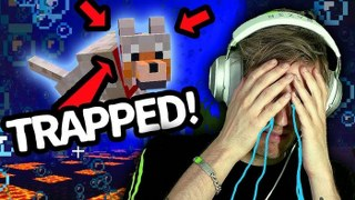 My minecraft Dog is TRAPPED underwater (HELP ME!!!)