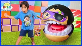 Ryan Escaping Pac-Man GIANT GOBSMAX BALLS Edition!!!