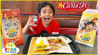Ryan's Star Pals Toys Kids Meal Surprise at Carl's Jr. and Hardees