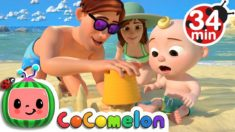 Beach Song + More Nursery Rhymes & Kids Songs – CoCoMelon