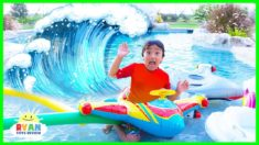 How Tsunamis are formed??? | Educational Video for Kids wit Ryan ToysReview!!!