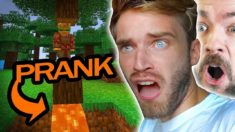 I got PRANKED in Minecraft (Not Epic)