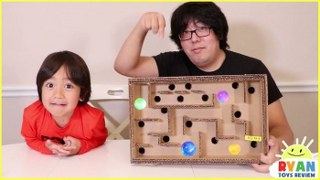 DIY Homemade Maze Board Game and more Fun Science Experiments!!!