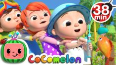 12345 Once I Caught A Fish Alive! 2 + More Nursery Rhymes & Kids Songs – CoCoMelon