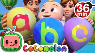 ABC Song with Balloons + More Nursery Rhymes & Kids Songs – CoCoMelon