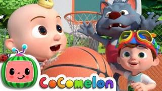 Basketball Song | CoCoMelon Nursery Rhymes & Kids Songs