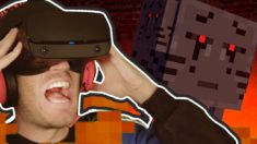 Minecraft VR is A NIGHTMARE!