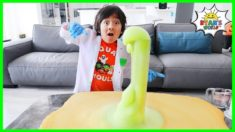 Elephant Toothpaste Science Experiments DIY at home!!!!