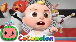 Taekwondo Song   CoCoMelon Nursery Rhymes & Kids Songs
