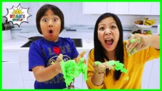 3 States of Matter Science DIY Educational For Kids ( Solid Liquid Gas )