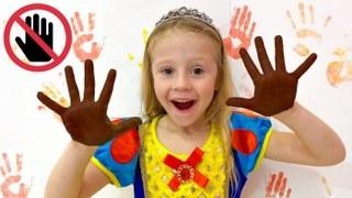 Настя и новые правила поведения для детей