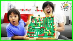 How to Make DIY Lego Maze Christmas Edition!!!!