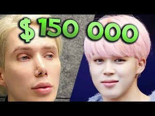 He payed $150 000 to look like BTS JIMIN