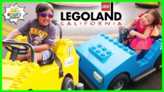 Legoland Amusement Theme Park Rides for Kids with Ryan's World!!!