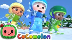 Ski Song | CoCoMelon Nursery Rhymes & Kids Songs