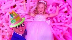 Лайк Настя и её день рождения 6 лет