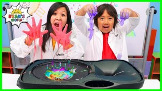 Non-Newtonian Fluid Vibration on Speaker DIY Science Experiment!!