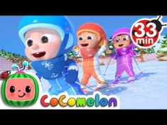 Ski Song  | + More Nursery Rhymes & Kids Songs – CoCoMelon