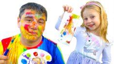 Настя и папа – песенка для детей про Извинения