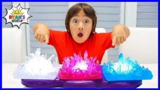 Growing Your Own Crystal   Easy DIY Science Experiments For Kids to do at home!