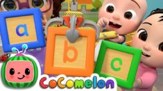 ABC Song with Building Blocks | CoComelon Nursery Rhymes & Kids Songs