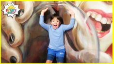 Ryan's Fun Day at the Museum of illusions and Children's Indoor Park