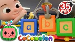 ABC Song with Building Blocks + More Nursery Rhymes & Kids Songs – CoComelon