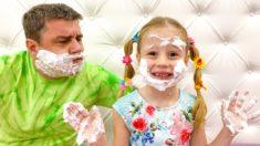 Настя и её ошибки в поведении – Правила поведения для детей