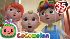Rain Rain Go Away (Indoors Version) + More Nursery Rhymes & Kids Songs – CoComelon