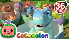 Ten Little Dinos + More Nursery Rhymes & Kids Songs – CoComelon