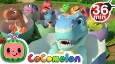Ten Little Dinos + More Nursery Rhymes & Kids Songs – CoComelon