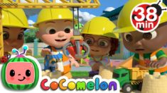 Construction Vehicles Song  + More Nursery Rhymes & Kids Songs – CoComelon
