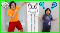 DIY Giant Board Game Combo Panda with Ryan!!!