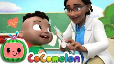 Doctor Checkup Song (School Version) | CoComelon Nursery Rhymes & Kids Songs