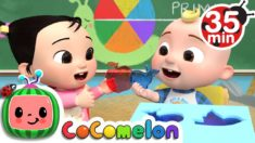 The Jello Color Song  + More Nursery Rhymes & Kids Songs – CoComelon